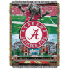 NCAA Alabama Crimson Tide Home Field Advantage 48x60 Tapestry Throw