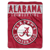 NCAA Alabama Crimson Tide 60x80 Super Plush Throw