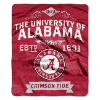 NCAA Alabama Crimson Tide 50x60 Raschel Throw Blanket