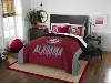 NCAA Alabama Crimson Tide QUEEN Comforter and 2 Shams