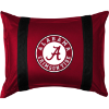 NCAA Alabama Crimson Tide Pillow Sham - Sidelines Series