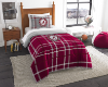 NCAA Alabama Crimson Tide Twin Comforter with Sham