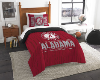 NCAA Alabama Crimson Tide Twin Comforter Set
