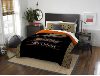 NHL Anaheim Ducks QUEEN Comforter and 2 Shams