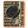 NHL Anaheim Ducks 48x60 Triple Woven Jacquard Throw