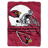 NFL Arizona Cardinals 60x80 Super Plush Throw Blanket
