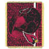 NFL Arizona Cardinals SPIRAL 48x60 Triple Woven Jacquard Throw