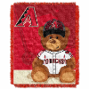 MLB Arizona Diamondbacks Baby Blanket
