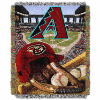 MLB Arizona Diamondbacks Home Field Advantage 48x60 Tapestry Throw