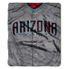 MLB Arizona Diamondbacks 50x60 Raschel Throw