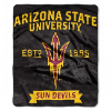 NCAA Arizona State Sun Devils 50x60 Raschel Throw Blanket