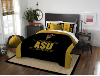 NCAA Arizona State Sun Devils QUEEN Comforter and 2 Shams