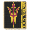 NCAA Arizona State Sun Devils FOCUS 48x60 Triple Woven Jacquard Throw