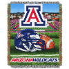 NCAA Arizona Wildcats Home Field Advantage 48x60 Tapestry Throw