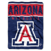 NCAA Arizona Wildcats OVERTIME 60x80 Super Plush Throw
