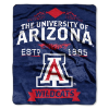NCAA Arizona Wildcats 50x60 Raschel Throw Blanket