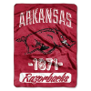 NCAA Arkansas Razorbacks 50x60 Micro Raschel Throw