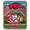 NCAA Arkansas Razorbacks Home Field Advantage 48x60 Tapestry Throw
