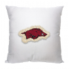 NCAA Arkansas Razorbacks 18x18 Letterman Pillow