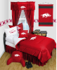 NCAA Arkansas Razorbacks Comforter - Locker Room Series