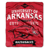 NCAA Arkansas Razorbacks 50x60 Raschel Throw Blanket