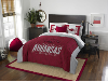 NCAA Arkansas Razorbacks QUEEN Comforter and 2 Shams