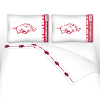 NCAA Arkansas Razorbacks Micro Fiber Bed Sheets
