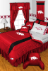 NCAA Arkansas Razorbacks Comforter - Sidelines Series