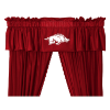 NCAA Arkansas Razorbacks Valance - Locker Room Series