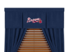 MLB Atlanta Braves Valance - MVP Series