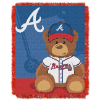 MLB Atlanta Braves Baby Blanket