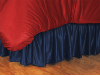 MLB Atlanta Braves Bed Skirt - Sidelines Series