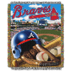 MLB Atlanta Braves Home Field Advantage 48x60 Tapestry Throw