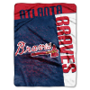 MLB Atlanta Braves 60x80 Super Plush Throw Blanket