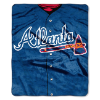 MLB Atlanta Braves 50x60 Raschel Throw