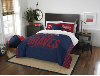 MLB Atlanta Braves QUEEN Comforter and 2 Shams
