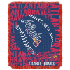 MLB Atlanta Braves 48x60 Triple Woven Jacquard Throw