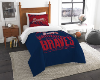 MLB Atlanta Braves Twin Comforter Set