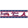 MLB Atlanta Braves Wall Paper Border