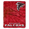 NFL Atlanta Falcons Sherpa STROBE 50x60 Throw Blanket