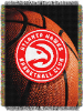 NBA Atlanta Hawks Real Photo 48x60 Tapestry Throw