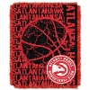 NBA Atlanta Hawks 48x60 Triple Woven Jacquard Throw