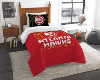 NBA Atlanta Hawks Twin Comforter Set