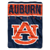 NCAA Auburn Tigers OVERTIME 60x80 Super Plush Throw
