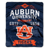 NCAA Auburn Tigers 50x60 Raschel Throw Blanket
