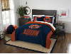 NCAA Auburn Tigers QUEEN Comforter and 2 Shams