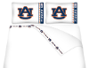 NCAA Auburn Tigers Micro Fiber Bed Sheets
