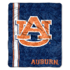 NCAA Auburn Tigers Sherpa 50x60 Throw Blanket