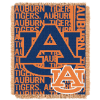 NCAA Auburn Tigers FOCUS 48x60 Triple Woven Jacquard Throw