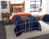 NCAA Auburn Tigers TWIN Size Bed In A Bag